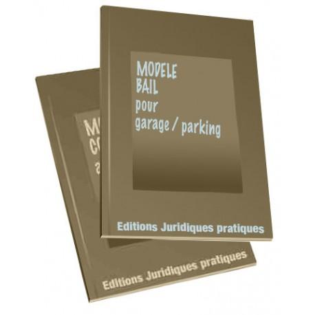 Modele bail location garage document online - Contrat de location pour un garage ...