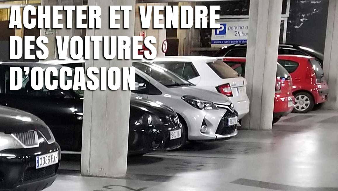 Achat-vente de voitures d'occasion